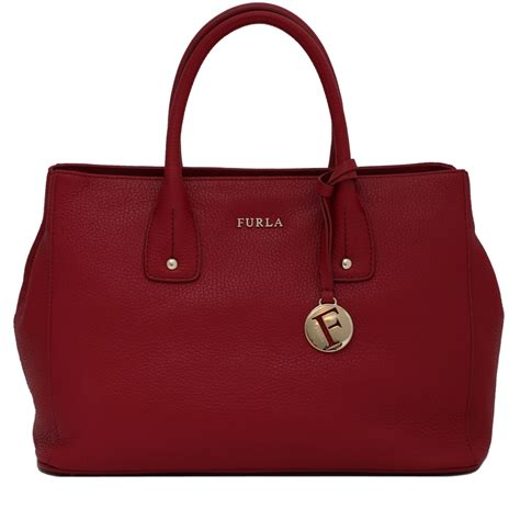 Furla Tote Bag furla serena small leather tote bag pink orchard luxury brands