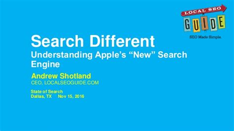 New Search Engines Search Different Understanding Apple S New Search Engine State Of S