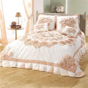 couvre lit 1 personne patchwork rosace acheter ce