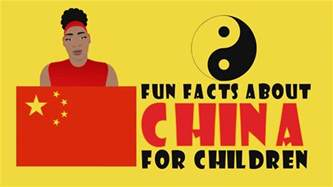 10 fun facts about china for children video cartoons for