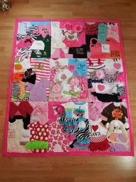 Quilt Baby Clothes by 25 Best Ideas About Baby Memory Quilt On Baby