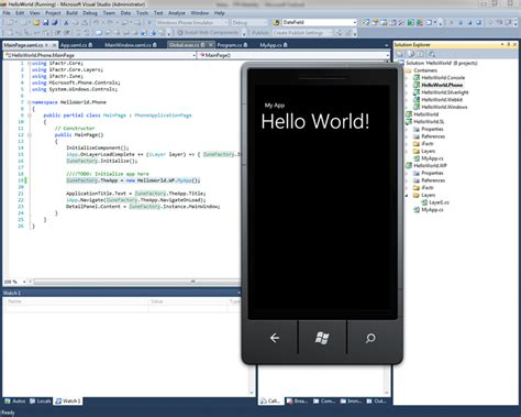 android templates for visual studio 2010 creating windows phone iphone and android apps with