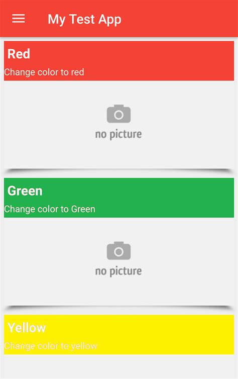 xml layout background color android change listview layout background color depend