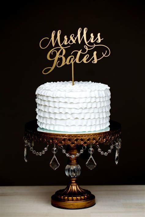 Stok Terbatas Customized Cake Topper custom cake topper mr and mrs last name soir 233 e collection