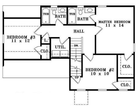 Marvelous Two Bedroomed House Plans 1 Three bedroom house