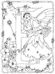 Back To Coloring Pages Fairy Alphabet Category sketch template