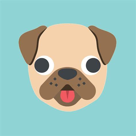 pug emoji pug emoji pencil and in color pug emoji