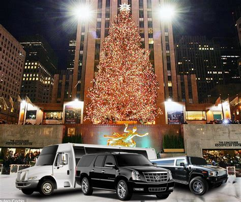 manhattan holiday light tour limo service