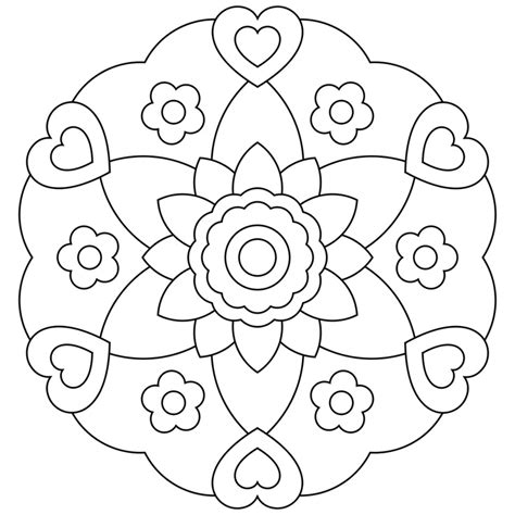 dibujos de mandalas para imprimir free coloring pages of mandala for cd