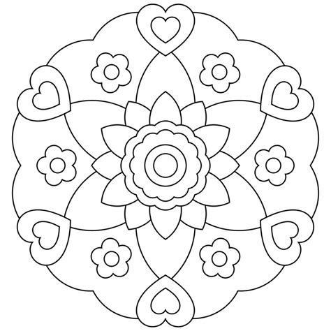 mandala colorear az dibujos para moldes de mandalas para imprimir az dibujos para colorear
