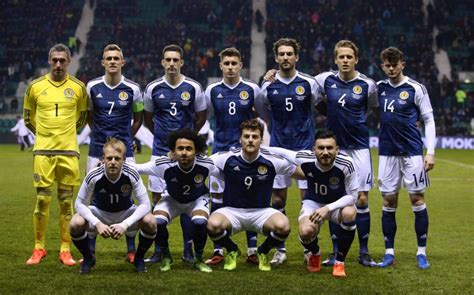 scotland football team scotland prepared for all or nothing slovenia tie as hopes