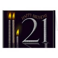 happy birthday 21 card zazzle