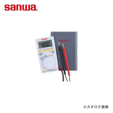 Multimeter Digital Sanwa Pm3 kys rakuten global market sanwa sanwa electric meter