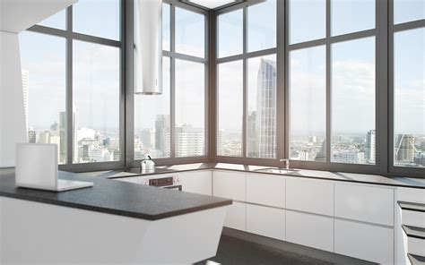 modern house kitchen designs futuristic interior design