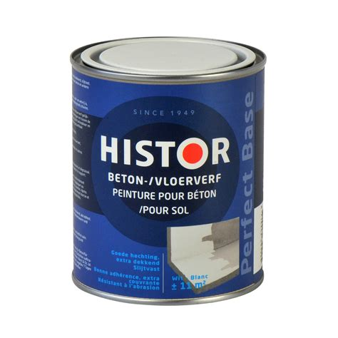 gamma trapverf wit histor perfect base betonverf wit 750 ml speciaalverf