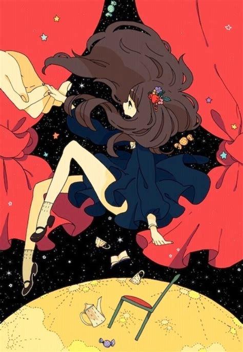 floating  space manga anime pinterest posts