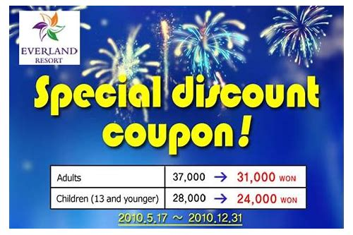 coupon lotte world