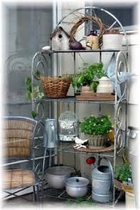 Gardening Rack Would Like A Similar Shelf Rack For The Kitchen Counter