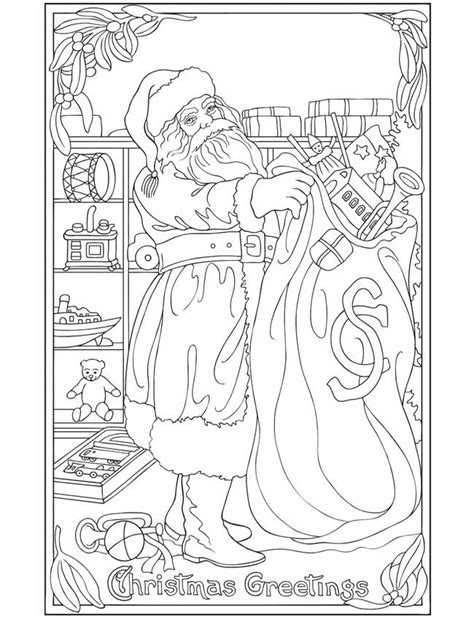 vintage christmas coloring page pin by tammy nelson on mandalas coloring pages pinterest