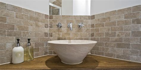 Bathroom Ceramic Wall Tile Ideas Travertine Tiles Your Bathroom Tfo