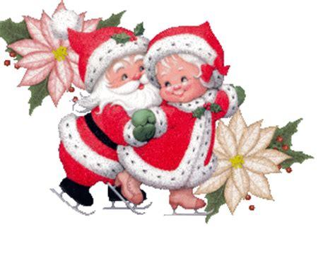 imagenes de santa claus y mama claus navidad