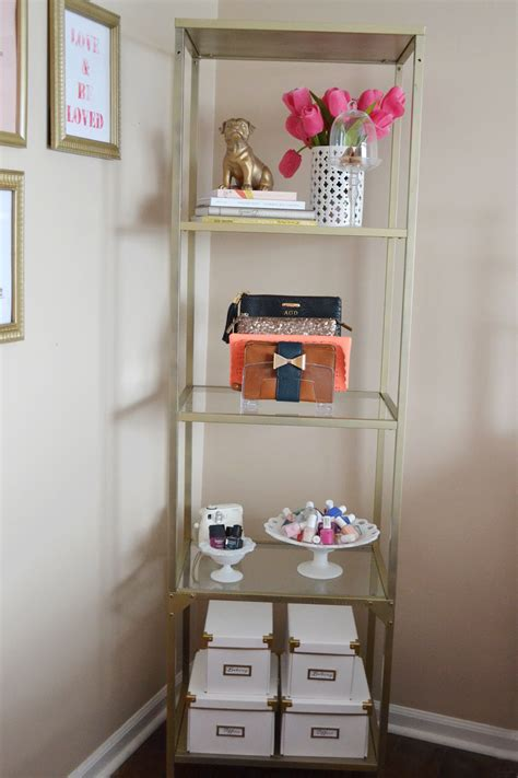all things pink and pretty diy ikea hack bookcase styling