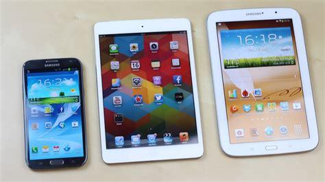 Samsung Galaxy Note 10 Mini by Samsung Galaxy Note 8 0 Vs Apple Mini Vs Note 2 Benchmark Swagtab