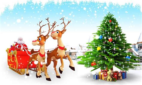 3d christmas wallpaper wallpapersafari