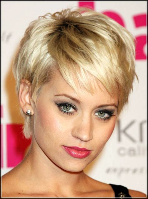 before and after hair styles of faces short hair styles for round faces women s preference