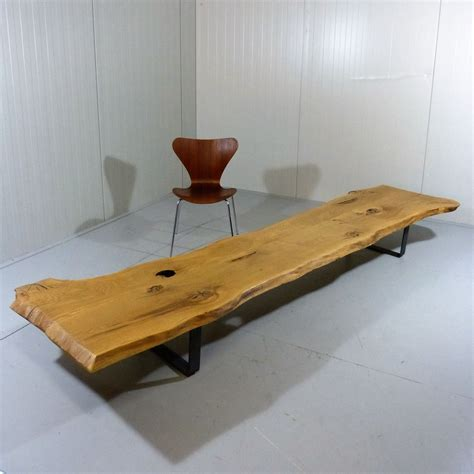 large trunk coffee table large tree trunk coffee table for sale at pamono