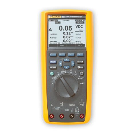 Multimeter Fluke 287 fluke 287 true rms electronics multimeter with treadcapture