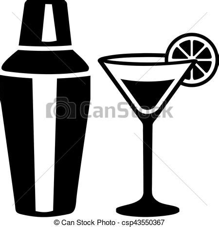 martini shaker vector clip vektor glas shaker martini cocktail