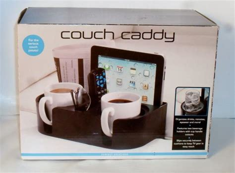 couch caddy cup holder perfect solutions couch caddy drink beverage cup remote