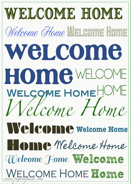 welcome home card simson welcome back welcome home occasion