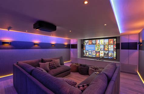 home cinema lighting design 20 well designed contemporary home cinema ideas for the