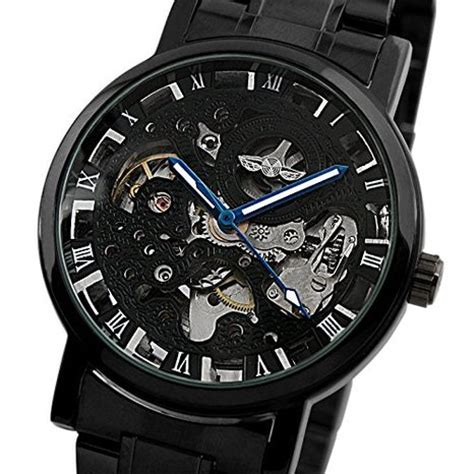 Jam Tangan Mechanical Ess Wm282 by Ess Jam Tangan Mechanical Wm282 Black