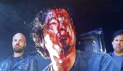 Mcgowan Almost Puts An Eye Out by Who Negan Killed During The Walking Dead Season 7 Premiere