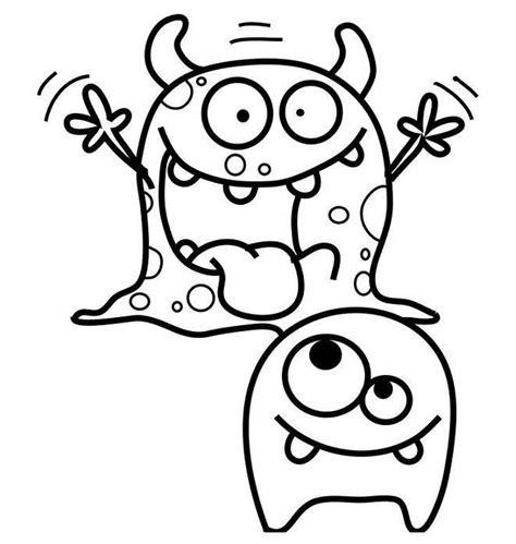 imagenes infantiles monstruos monstruos infantiles para colorear y divertirte