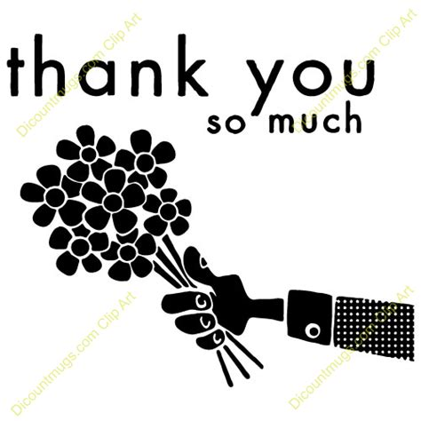 Thank You Much Clipart by Soo Much Clipart