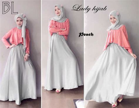 Longdress Veronika Busana Muslim update dress busana muslim modern 2015 nibinebu