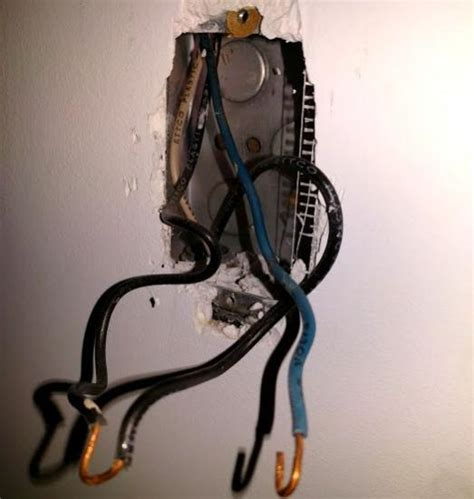 black and blue wires in light switch doityourself