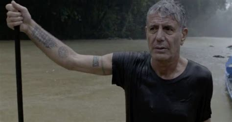 anthony bourdain tattoos parts unknown borneo just the one liners eater
