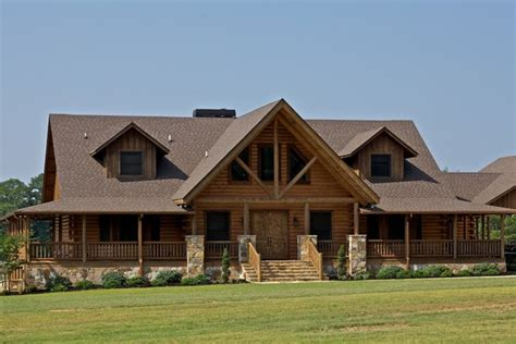 satterwhite log home plans mod mountain laurel rustic exterior birmingham by