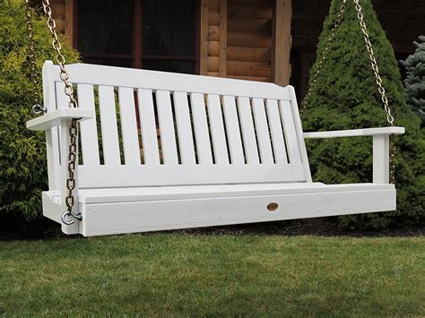 White Outdoor Porch Swing ? Home Ideas Collection