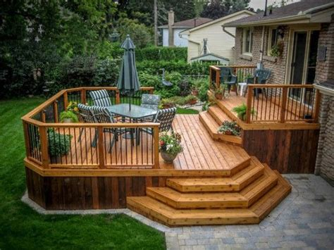 Wood Patio Designs 15 Best Ideas About Decks On Patio Patio Deck Designs And Backyard Makeover