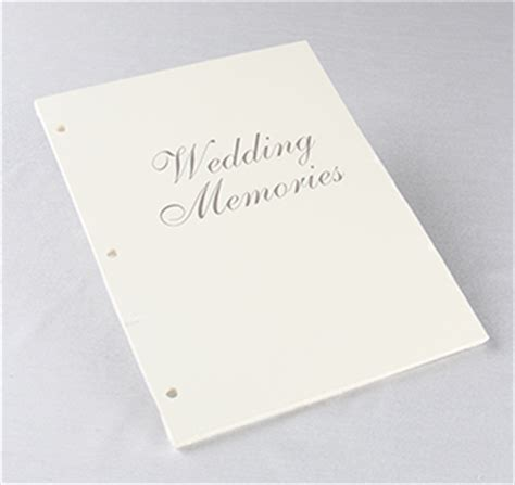 Wedding Album Refill Pages by Memory Book Refill Pages Wedding Refill Pages