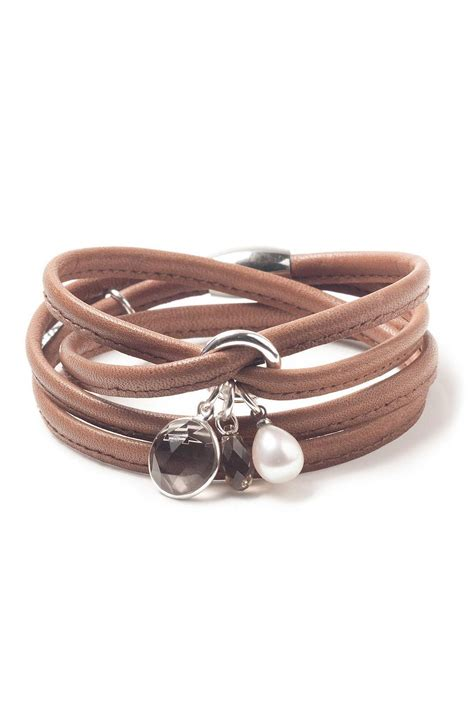 Handmade Leather Bracelet - luxetto boutique handmade leather bracelet from by