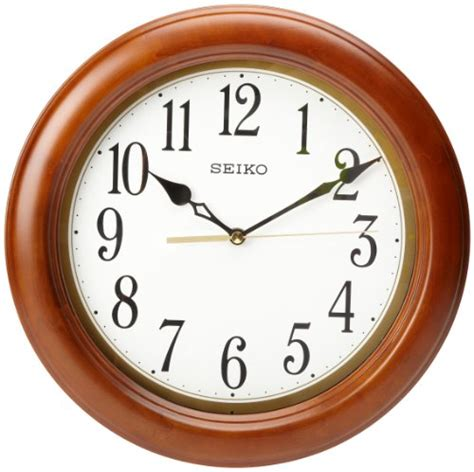 seiko qxa520klh wall clock b006zmhup0 amazon price seiko qxa522blh seiko qxa522blh classic wall clock price
