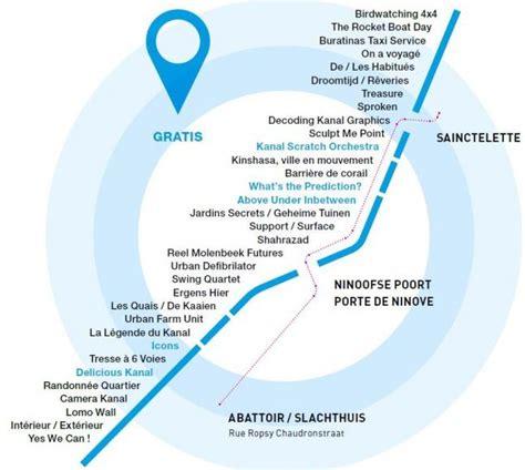 roeien kanaal brussel festival kanal 2012 kaart en uurschema canal brussels
