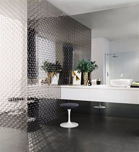 mirror tiles for bathroom walls 111 best wall panelling images on pinterest 3d wall